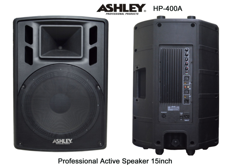 Speaker Active ASHLEY 15in HP400A Model Huper